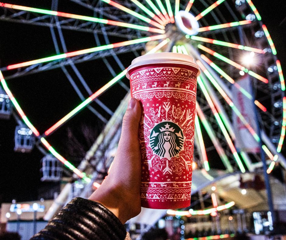 Starbucks Christmas Cup, Design, Branding, Brand Consistency, Panta Marketing